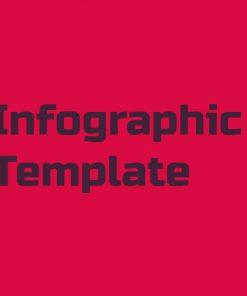 طراحی قالب اینفوگرافیک