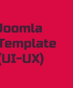 طراحی قالب جوملا