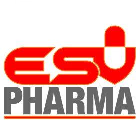نمونه کار ریدیزاین لوگو ESV Pharma